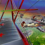 Countryside Flight with the Red Baron Squadron